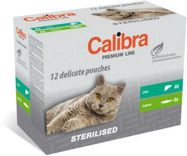 CALIBRA NEW PREMIUM MULTIPACK STERILISED CAT 12 x 100 g