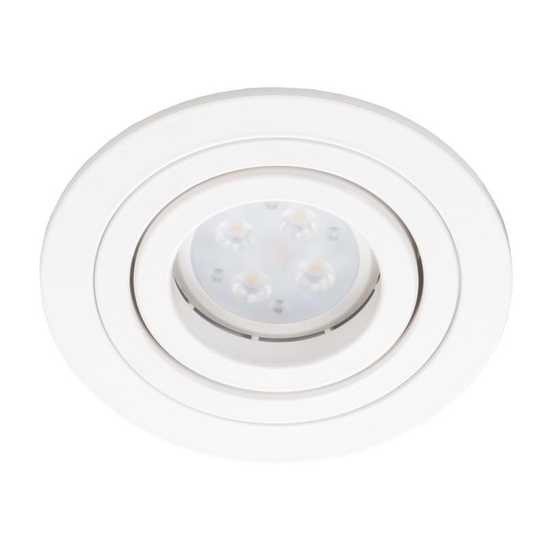 Oprawa podtynkowa regulowana ALCAZAR 540.WW GU10 oczko okrągłe białe - Lumifall // Rabaty w koszyku i darmowa dostawa od 299zł !