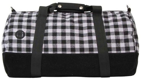 torba podróżna MI-PAC - Duffel Gingham Grey/Black (A08