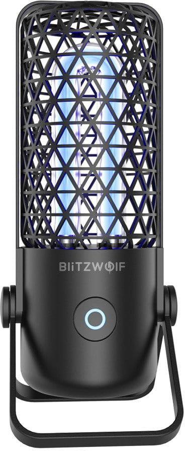 Sterylizator Blitzwolf BW-FUN4 z lampą UV (czarny)