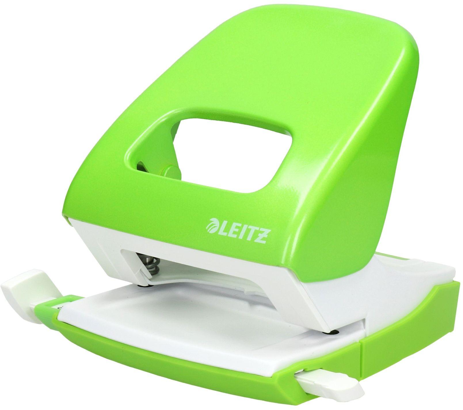 Dziurkacz 30k jasno-zielony NewNexxt WOW Leitz 5008