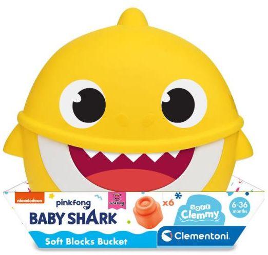 Wiaderko Clemmy z klockami Baby Shark (GXP-767251)