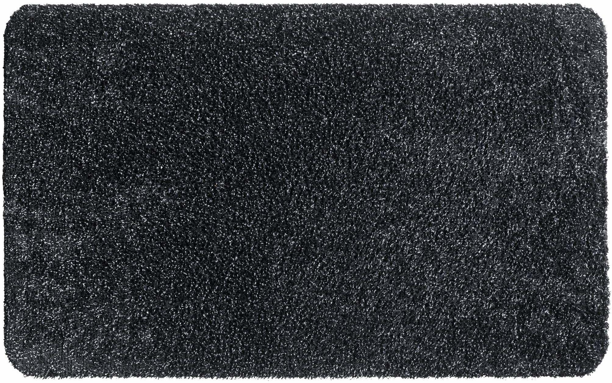 Aquastop mata wejściowa do użytku wewnątrz bawełna i poliester 40 x 60 cm grafitowa