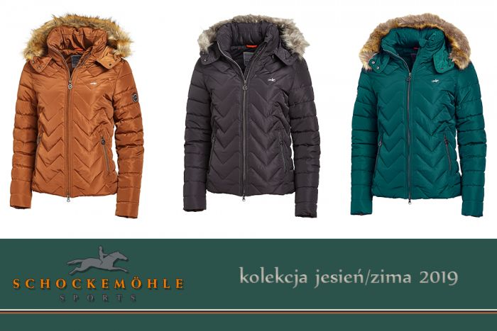 Kurtka FAME kolekcja jesień-zima 2019 - Schockemohle