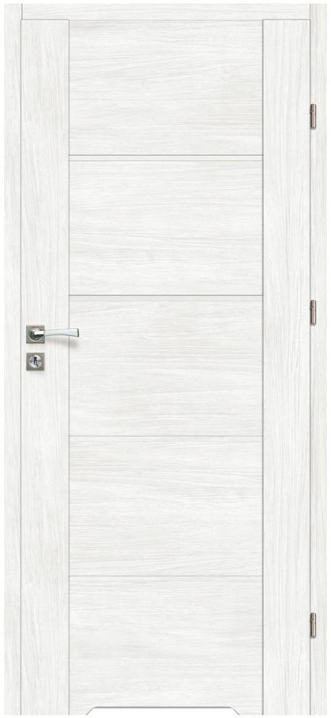 Skrzydło drzwiowe z podcięciem wentylacyjnym MALIBU Bianco 80 Prawe ARTENS