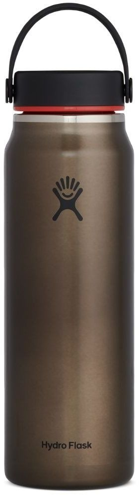 Butelka termiczna 946 ml Lightweight Wide Mouth Trail Series Hydro Flask - obsidian