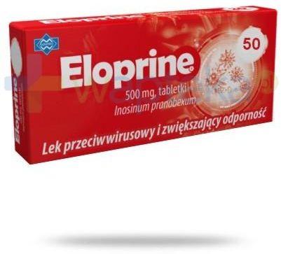 Eloprine 500 mg 50 tabletek