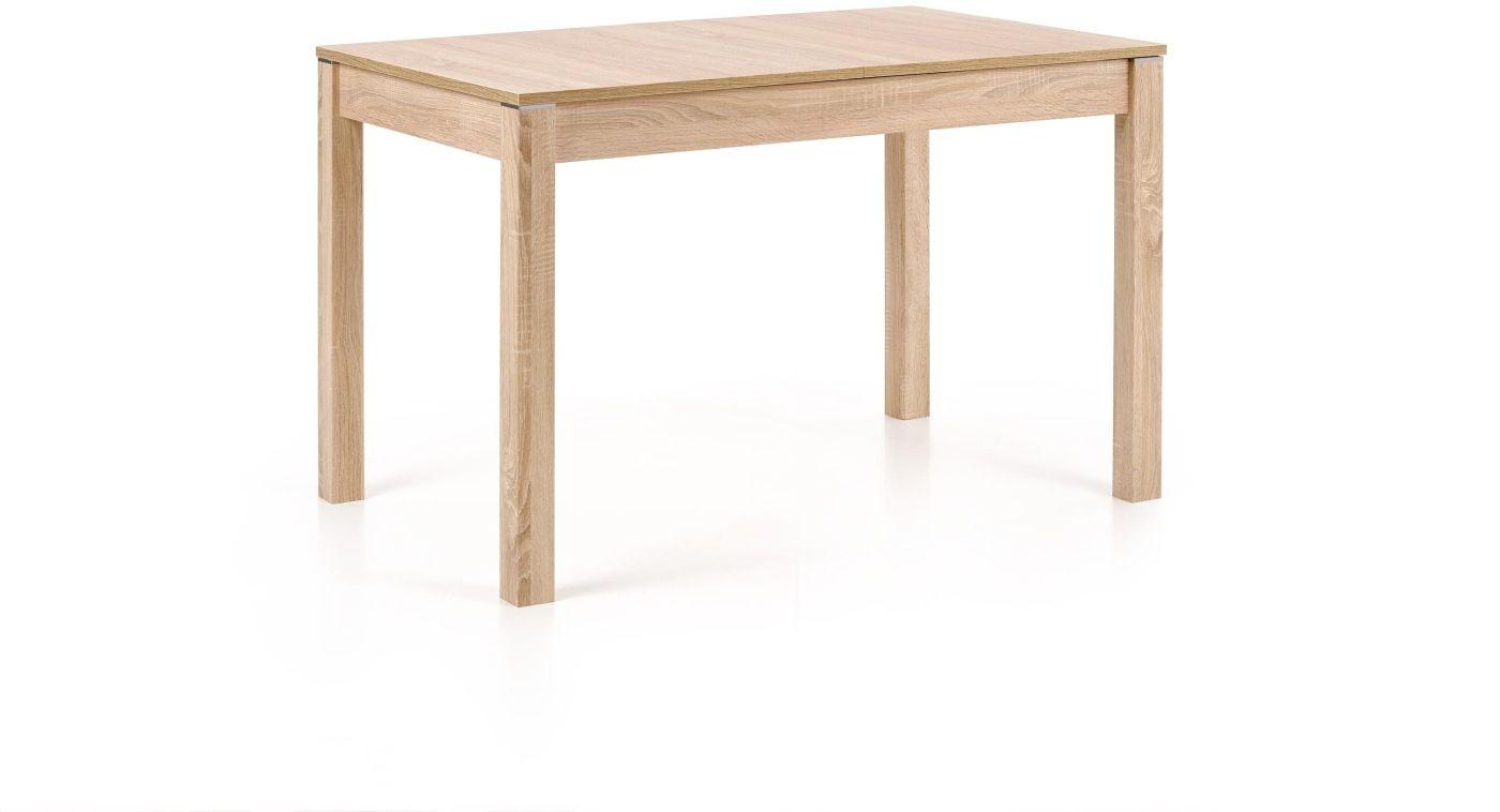 MAURYCY stół dąb sonoma (118-158x75 cm) Halmar