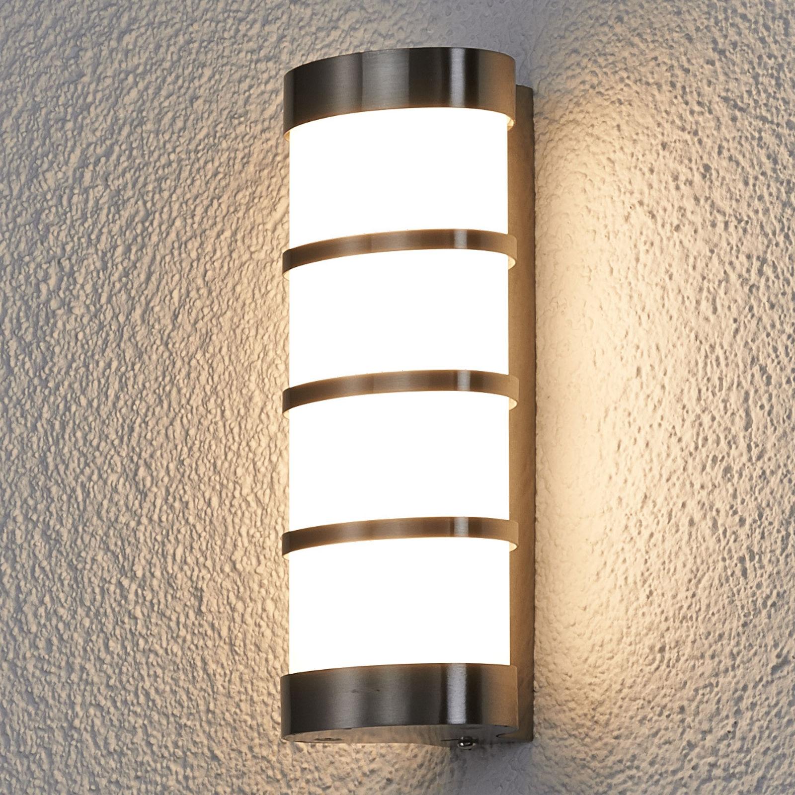 Lampa zewnętrzna LED Leroy, stal szl.