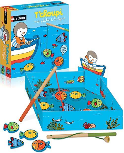Nathan  Moje łowienie na linii T''hcoupi  gra edukacyjna dla dzieci od 3 lat