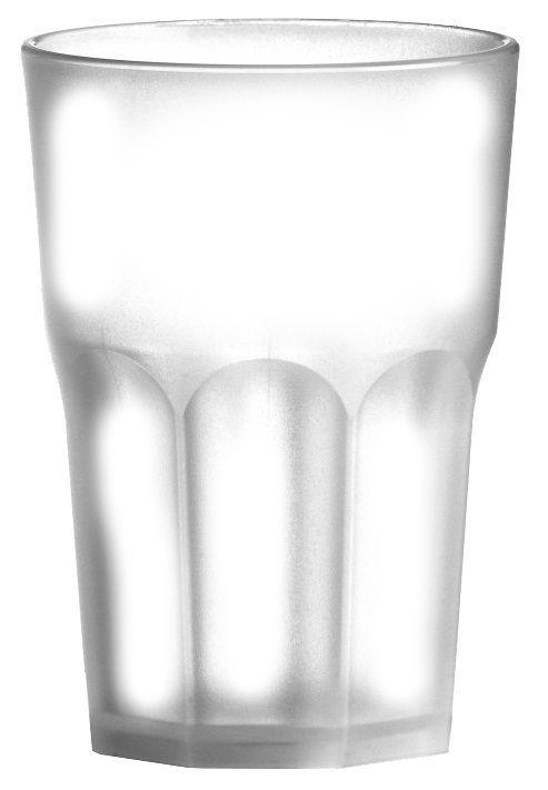 Szklanka z poliwęglanu biała 500ml