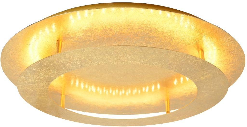 Candellux MERLE 98-66213 plafon lampa sufitowa metalowy klosz złoty 18W LED 3000K 40cm