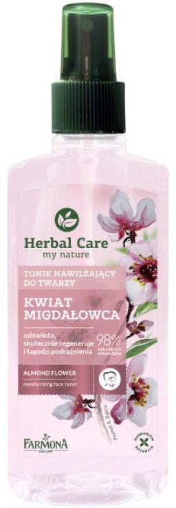 Herbal Care tonik nawilżający KWIAT MIGDAŁOWCA 200ml