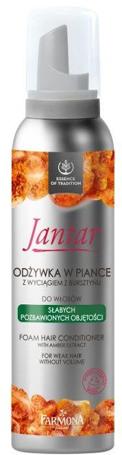JANTAR Odżywka w piance do włosów pozbawionych objętości 180 ml