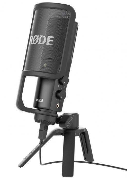 Rode NT-USB studyjny mikrofon pojemnościowy