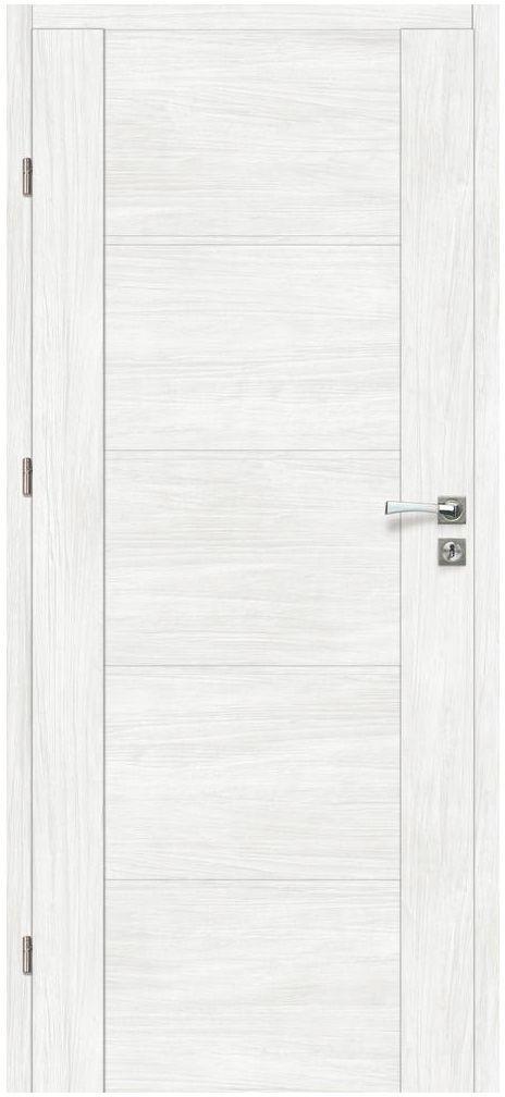 Skrzydło drzwiowe pełne MALIBU Bianco 80 Lewe ARTENS