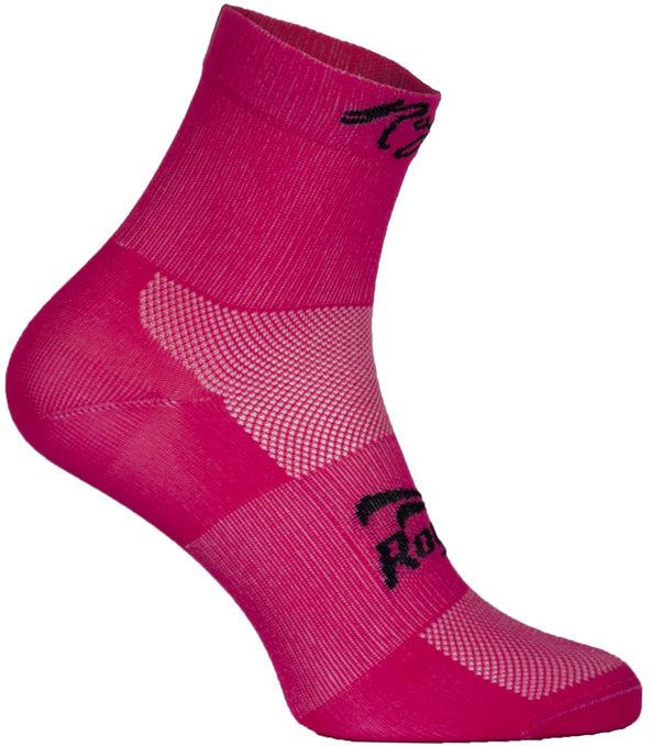 ROGELLI RCS-10 010.705 Q-Skin skarpetki rowerowe, różowe Rozmiar: 44-47,ROGELLI RCS-10 010.705