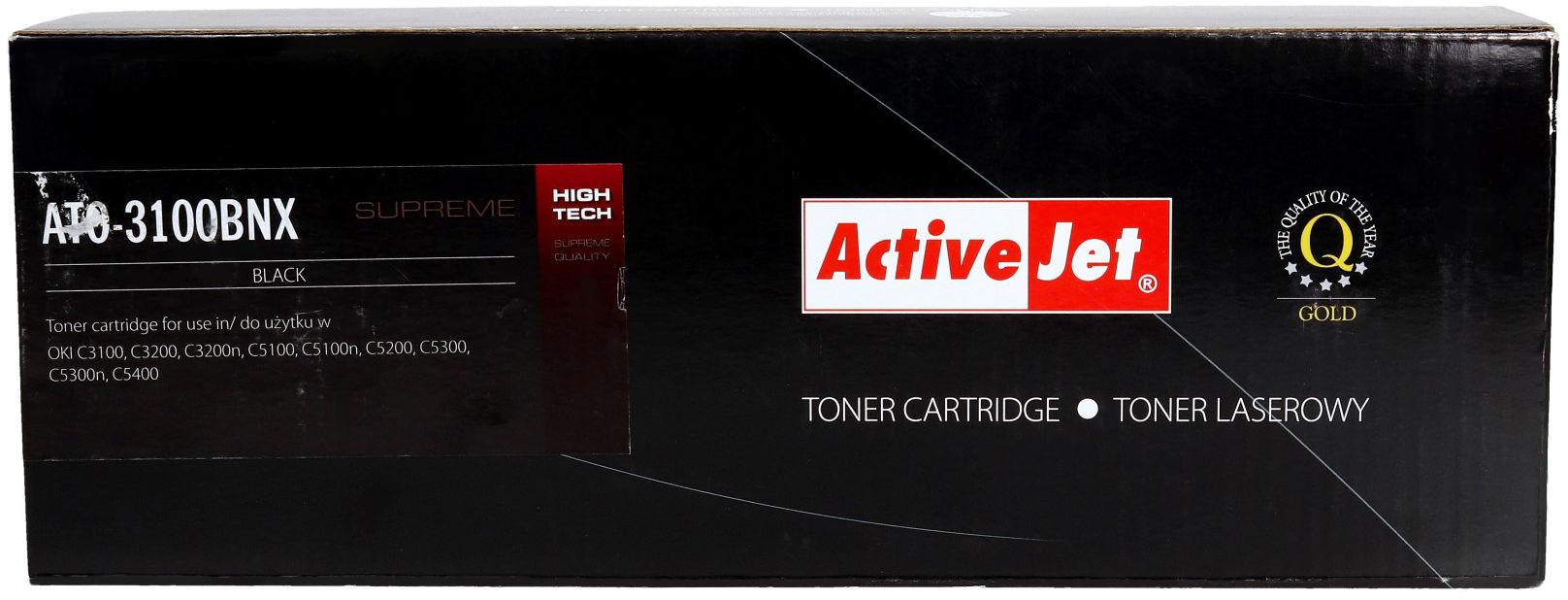 Toner Oki C3100/3200 czarny 8k ActiveJet ATO-3100BNX