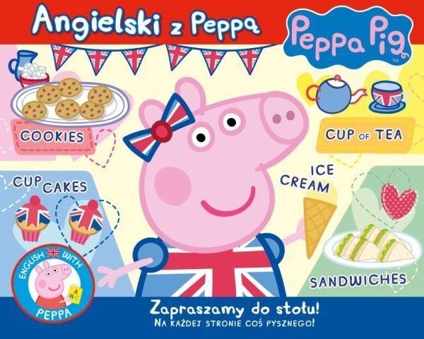 Świnka Peppa Angielski z Peppą Zapraszamy do stołu!