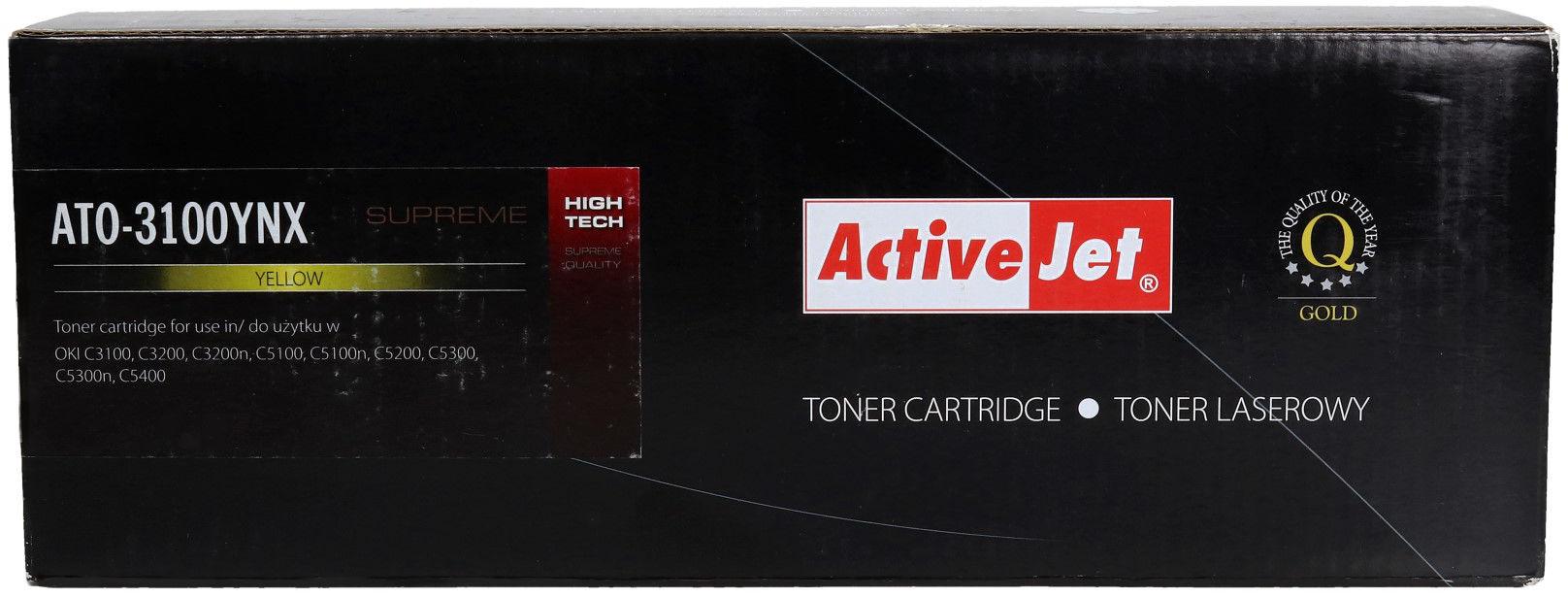 Toner Oki C3100/3200 yellow 5k ActiveJet ATO-3100YNX