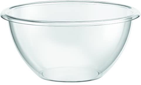 Bodum miska do sałatki bistro, tworzywo sztuczne - 23 cm, przezroczysta