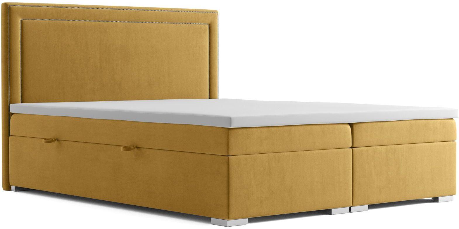 Łóżko kontynentalne Soho 120x200 - 58 kolorów