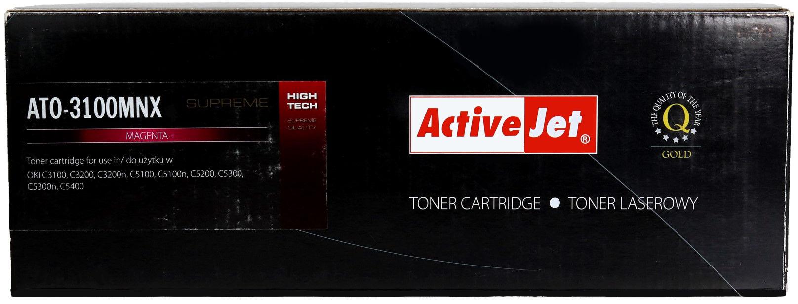 Toner Oki C3100/3200 magenta 5k ActiveJet ATO-3100MNX