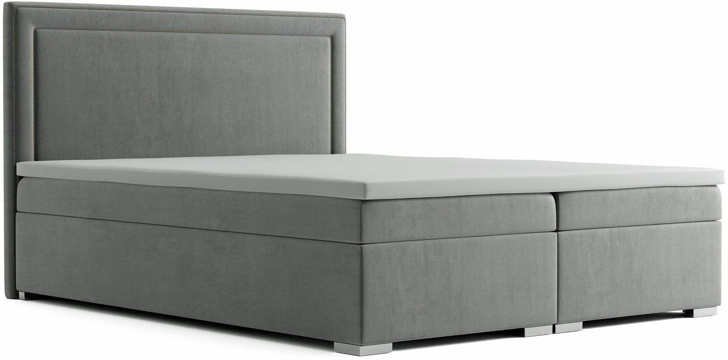 Podwójne łóżko ze schowkiem Soho 140x200 - 58 kolorów