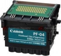 Canon PF-04 (3630B001) - oryginalna głowica drukująca, black (czarny)