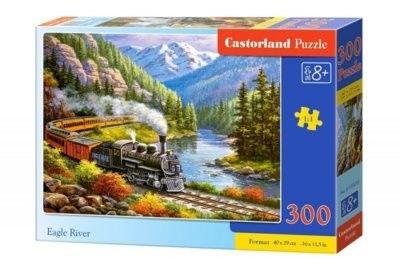 Puzzle Castor 300 - Pociąg w górach, Eagle River