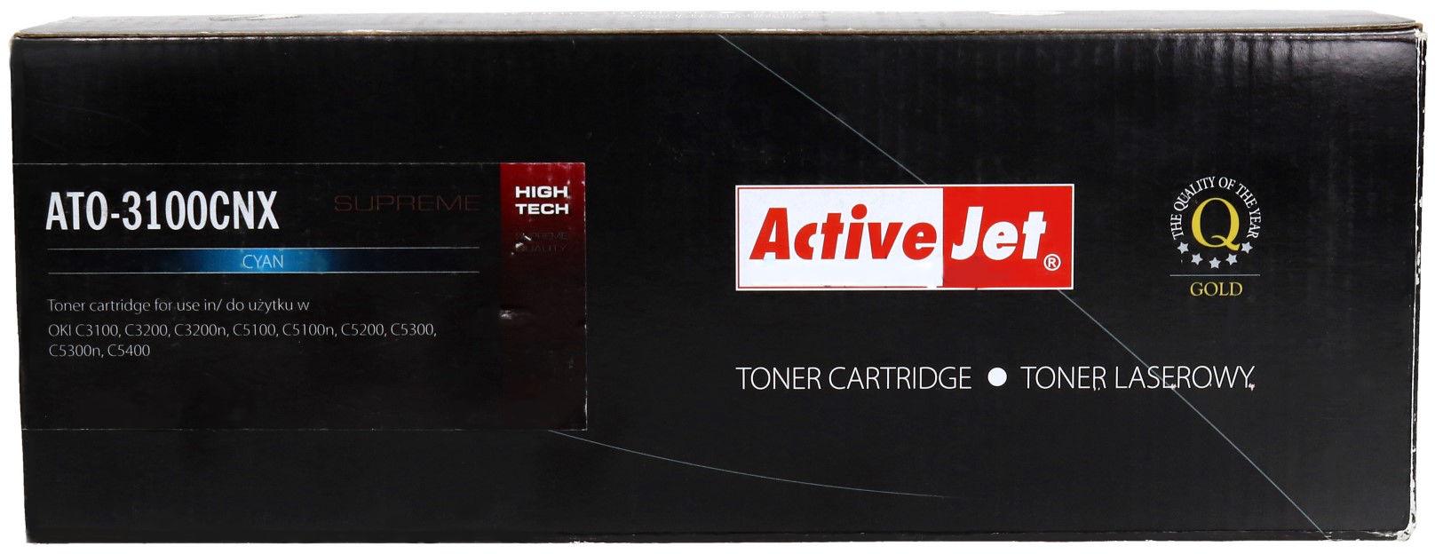 Toner Oki C3100/3200 cyan 5k ActiveJet ATO-3100CNX