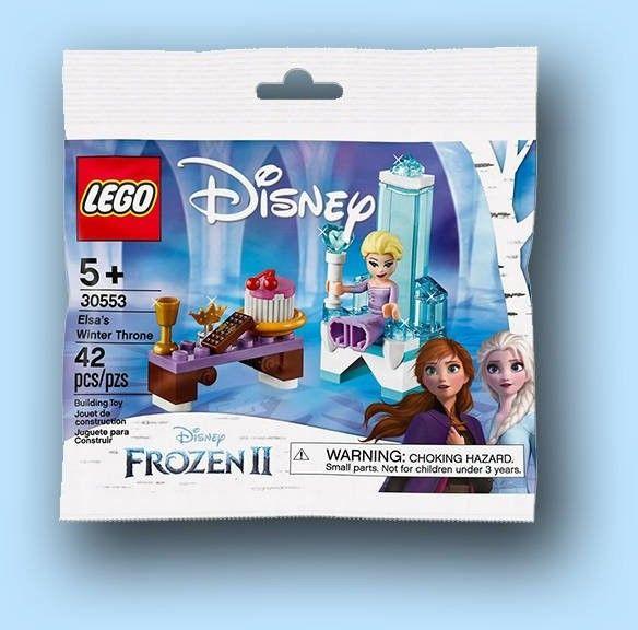 LEGO Disney Princess 30553 Zimowy tron Elsy
