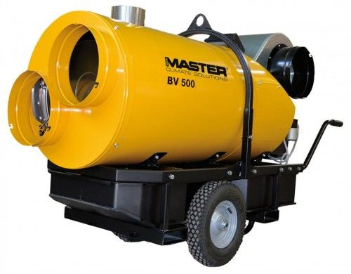 Nagrzewnica olejowa Master BV 500-13CR, z odpr. spalin NEGOCJUJ CENĘ