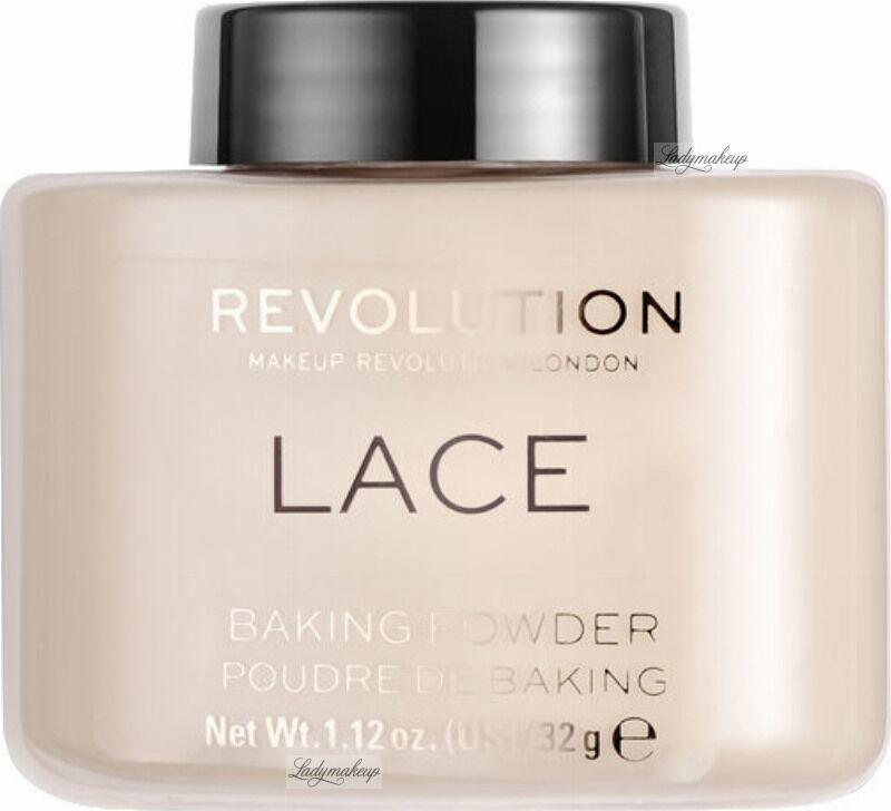 MAKEUP REVOLUTION - LACE - LOOSE BAKING POWDER - Sypki puder do twarzy - 32 g
