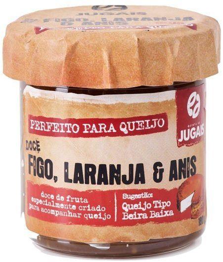 Portugalska konfitura z fig i pomarańczy z anyżem 180g