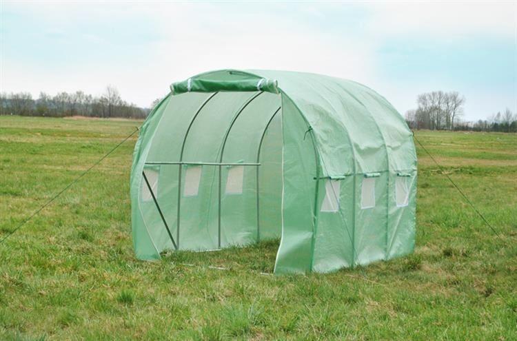 Tunel foliowy 4,5 m x 3 m /zielony/