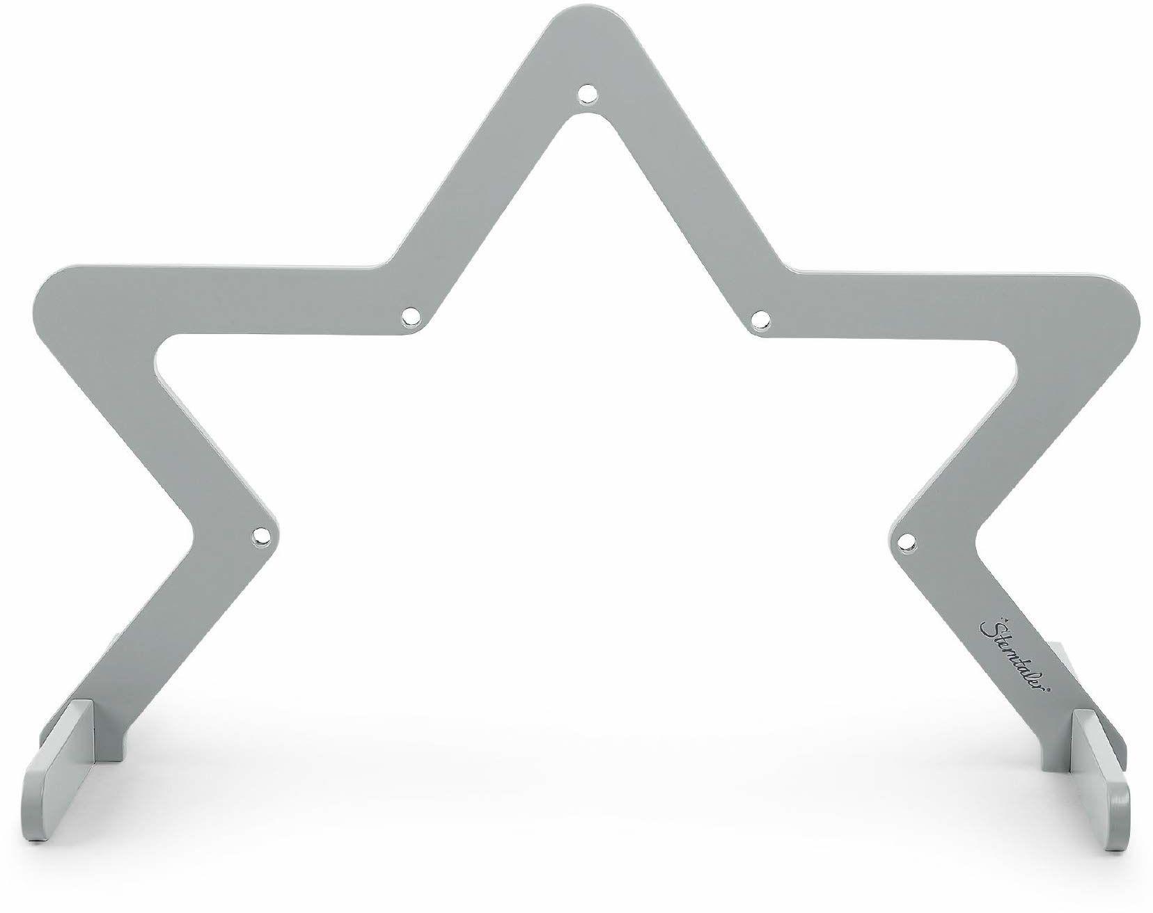 Sterntaler Łuk do zabawy gwiazda, drewno, wiek: 0-18 miesięcy, 63 x 90 x 49 cm, szary