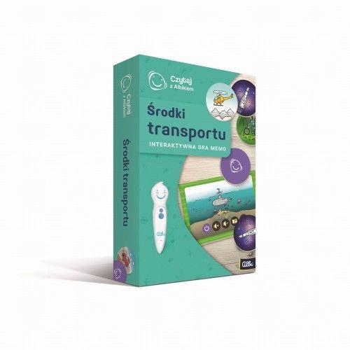 Czytaj z Albikiem gra Memo Środki Transportu Albi