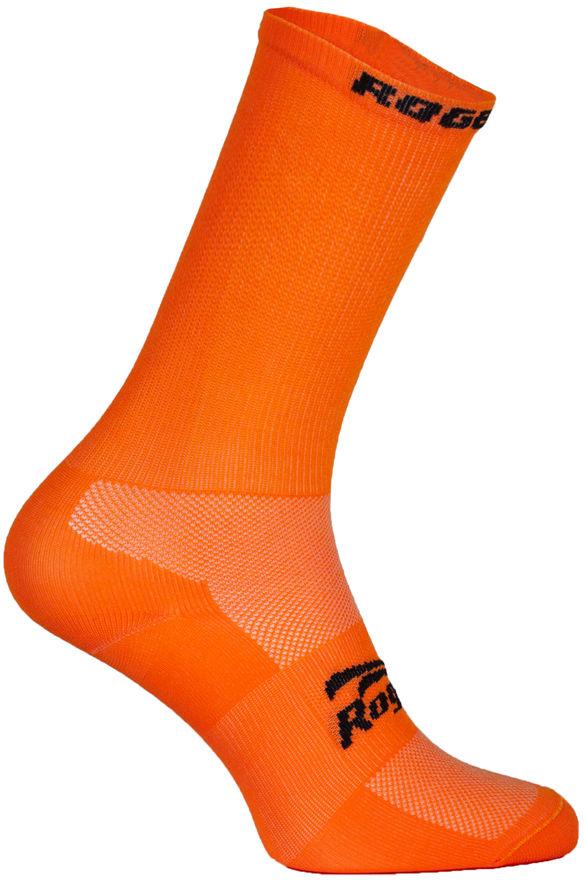 ROGELLI RCS-08 skarpety rowerowe 007.139 pomarańczowy (fluor orange) Rozmiar: 40-43,rogelli 007.139