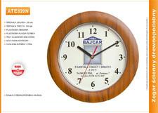 Zegar reklamowy drewnopodobny /270mm