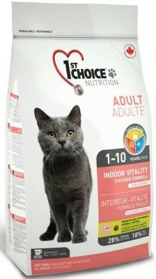 1St Choice Cat Adult Indoor Vitality 10kg