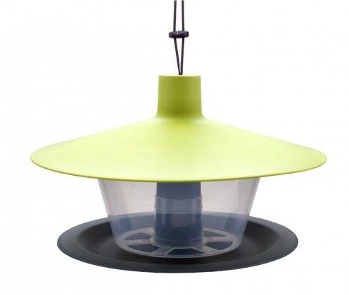 Karmnik dla ptaków średnica 28 cm zielony