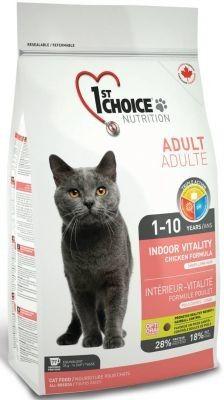 1st Cat Indoor Vitality Chicken 2x10 kg