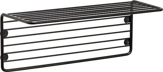 Półka hübsch czarna metalowa z prętów