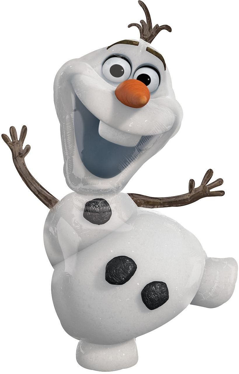Amscan Anagram 10107521 Balon Foliowy Disney Frozen Olaf Różnokolorowy