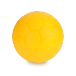 Pojemnik na soczewki Football Case - żółty