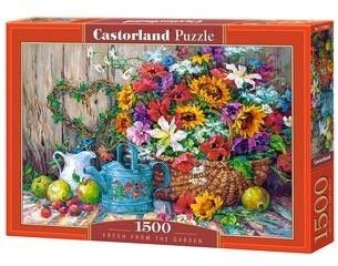 Puzzle Castor 1500 - Świerze z ogrodu, Fresh From The Garden