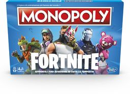 Hasbro Monopoly Fortnite gra planszowa (wersja włoska) wielokolorowa