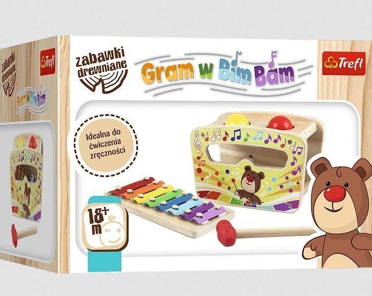 Zabawka drewniana - Gram w bim bam TREFL