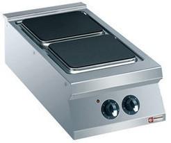 Kuchnia elektryczna 2 płytowa 8000W